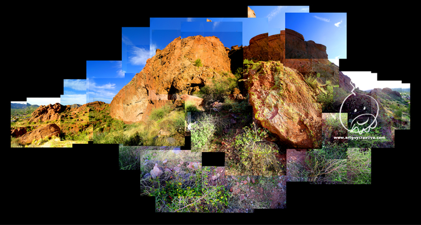 Large Format Landscape Photography Of Camelback Mountain