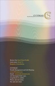 Wealth Management Brochure Back Cover