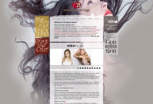 Beauty Salon Visual Design