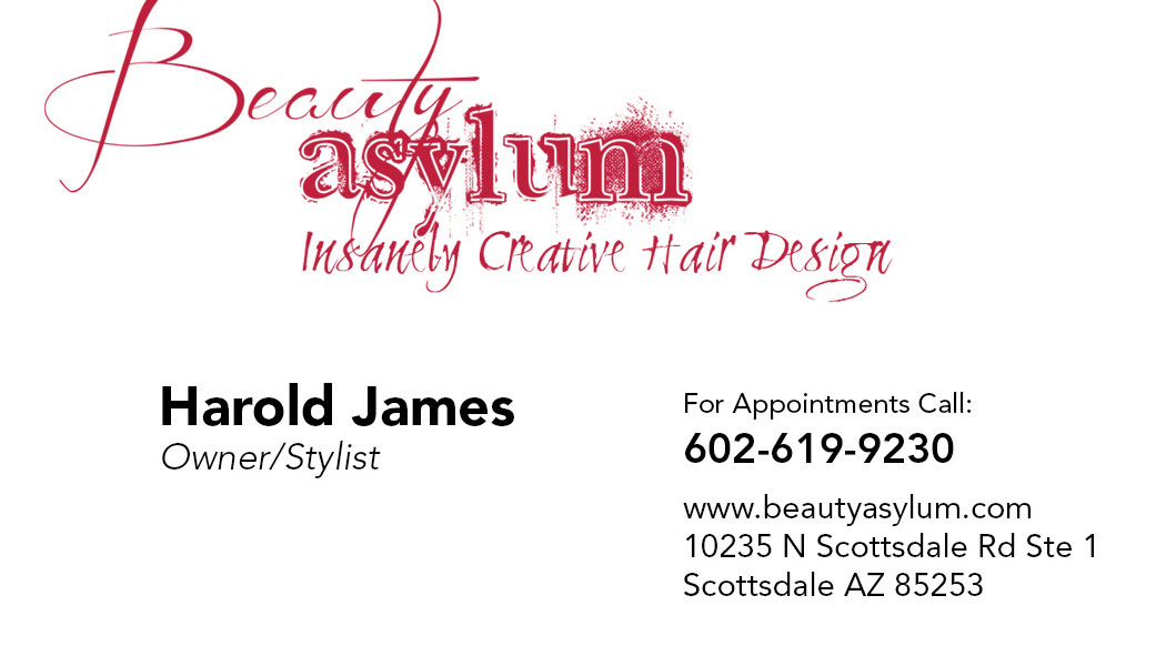 After business card - front